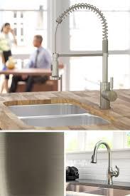 best 25 brushed nickel kitchen faucet ideas on pinterest moen