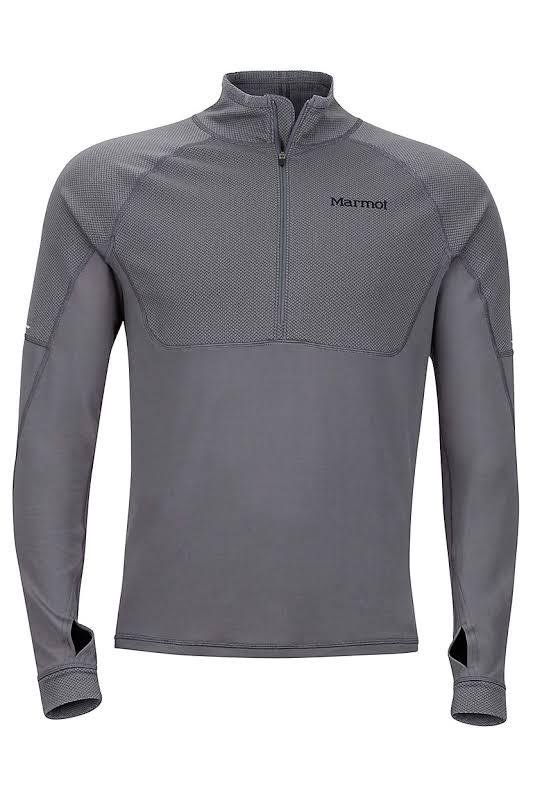 Marmot Hard Core Fleece Jacket Cinder L 44410-1415-L