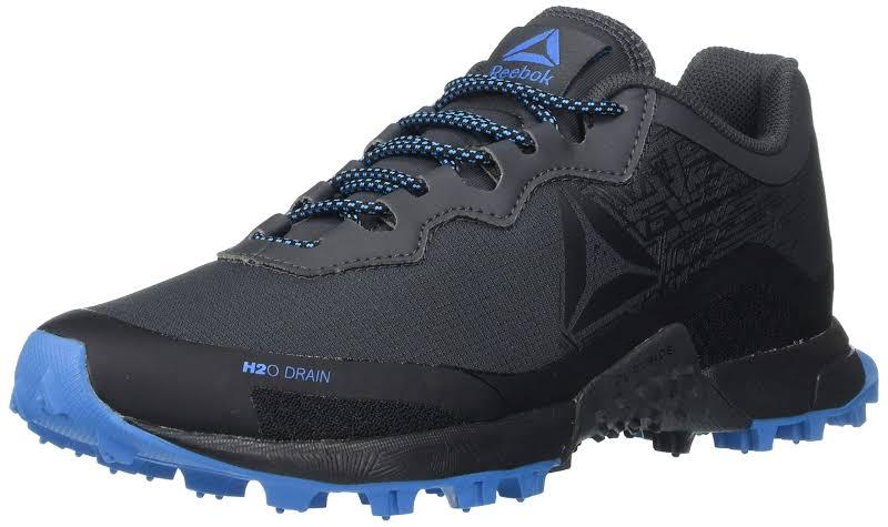 Reebok Terrain Grey/Black/Cyan Running Shoes