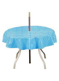 Tablecloth For Umbrella Patio Table by Amazon Com Checkered Umbrella Tablecloth Round 70