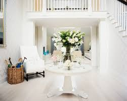 White Entryway Table by What Is A Foyer