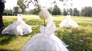 ghost maiden yard decorations at home with p allen smith youtube
