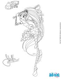 stella transformation sirenix coloring page coloring pages