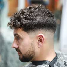 hairstyle haircuts for men with curly hair medium wavy hair