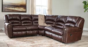 Chocolate Living Room Furniture by Manzanola Chocolate Reclining Sectional Set Living Room Sets