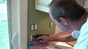 how to install a tile backsplash part 1 youtube