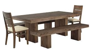 Rustic Modern Dining Room Tables by Dining Room Classy Woods Natural Dining Table With Bench With