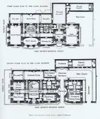 floor plan of sen william a clark mansion nyc gilded age homes