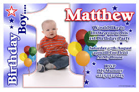 Birthday Invitation Cards For Kids 1st Birthday Invitations Boy U2013 Gangcraft Net
