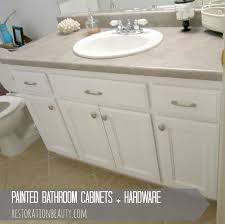 bathroom cabinets painted bathroom cabinets and hardware