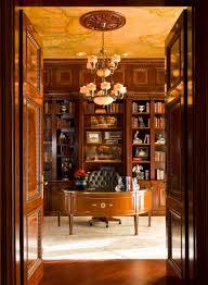 Home Library Lighting Design by Albert Hadley U0027s Design Of Oxblood Lacquer Bookshelves For Brooke