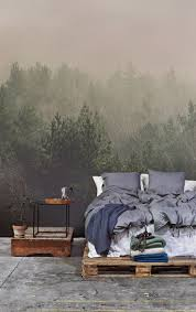Grey And White Bedroom Wallpaper Get 20 Wallpaper Headboard Ideas On Pinterest Without Signing Up