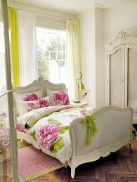 picture of cream light green chic bedroom decoration using