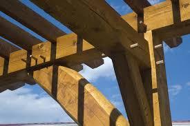 Timber Frame Pergola by Portfolio Colorado Timber Framing Timber Frame Homes Colorado