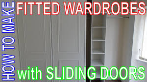 how to make fitted wardrobes easy diy install custom build