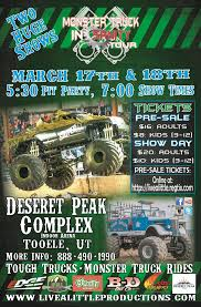 monster truck shows in colorado monster truck insanity in tooele presented by live a little