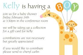 New Office Invitation Card The Inspiring Collection Of Office Baby Shower Invitation Wording