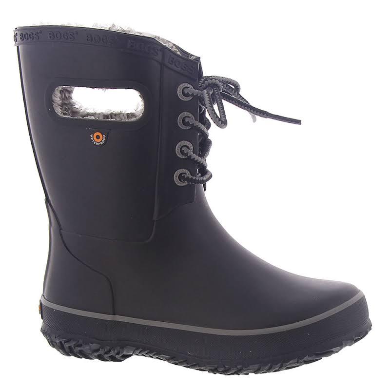 Bogs Amanda Plush Lace Black Medium 1 72454-001-M-