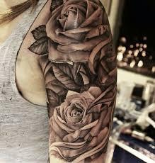 Tattoo Designs Half Sleeve Ideas Best 20 Rose Sleeve Tattoos Ideas On Pinterest Tattoo Sleves