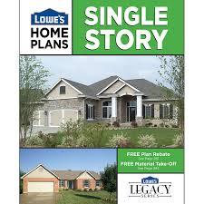 shop single story home plans at lowes com