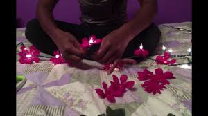 flower lights tutorial dorm room decoration idea youtube