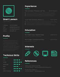 FREE Tools to Create Outstanding Visual Resume canva resume
