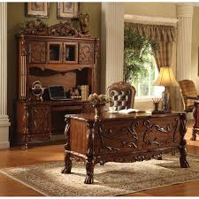 Solid Oak Office Furniture by Ac 309 Cherry Solid Wood Office Desk Set Executive
