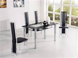 adorable 4 seater glass dining table ideas black set engaging