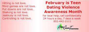 Abuse is not love   Teen Dating Violence Awareness Teen Dating Violence