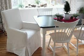 beautiful dining room chair slipcovers with arms photos