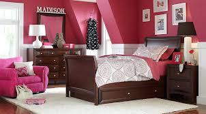Full Size Bed In A Bag For Girls by Ivy League Cherry 6 Pc Full Sleigh Bedroom Teen Bedroom Sets