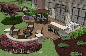 Ideas For Fire Pits In Backyard by Patio And Fire Pit Ideas With Integrated Seating Patio For