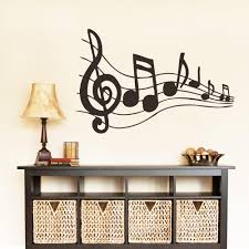 Music Home Decor by Awesome Musical Note Wall Decor Photos Home Design Ideas