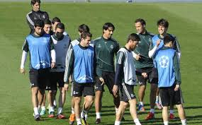 madrid latihan