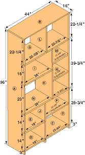 Wood Shelf Plans Free by Free Tall Bookshelf Woodworking Plans From Shopsmith