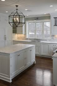 Off White Kitchen Cabinets With Black Countertops 30 Spectacular White Kitchens With Dark Wood Floors Gray Painted