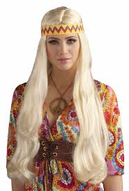 halloween mens wigs mens blonde hippie wig red wigs online