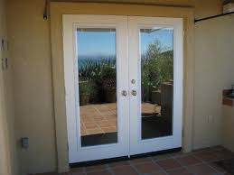home design french doors with blinds inside glass fence hall the