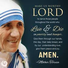Mother Teresa Quotes On Love by Catholic News World Catholic Quote To Share By Motherteresa