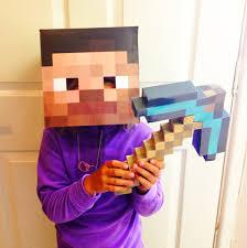 Halloween Minecraft Costume Minecraft Halloween Costume Crafts Parents Scholastic