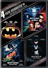 Batman 1 à 4 FRENCH DVDRIP 1989-1997