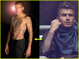 David Beckam Tattoo