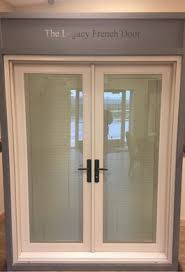 exterior door with blinds between glass french doors with blinds between the glass advanced window products