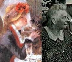 Aline (le déjeuners des Canotiers en 1881) , Aline en 1912 - deuxaline_petit