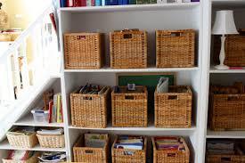 Ikea Wicker Baskets by Ikea Baskets Homeschool Room Hodgepodge