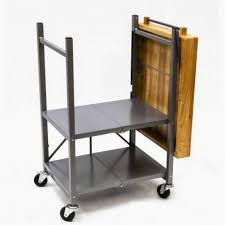 style wondrous foldable kitchen trolley cart full size of
