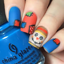 35 creepy and cute halloween nail art ideas highpe