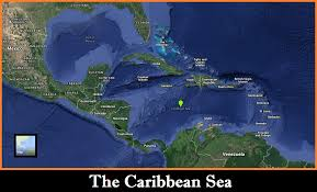 Caribbean Sea On Map by Maps History Of Pirates Podcast