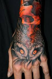 skull owl by jeff gogue tattoos