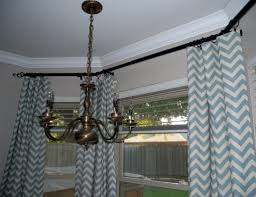 Blackout Curtain Panels Grey Chevron Curtain Come With Burlap Curtain Panels And Blackout
